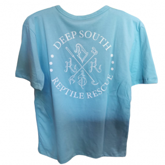 Deep South Reptile Rescue T-Shirt Light Blue