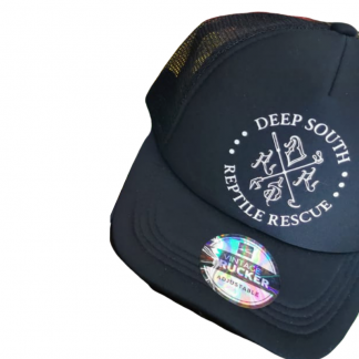 DSRR trucker cap black