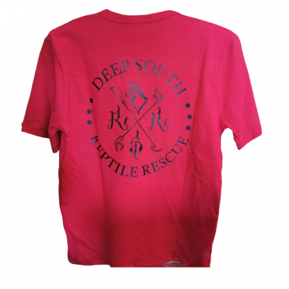 Deep South Reptile Rescue Cerise T-Shirt