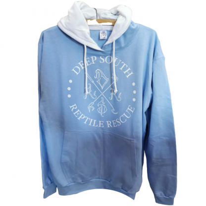 Deep South Reptile Rescue Hoodie - Light Blue