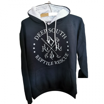Deep South Reptile Rescue Hoodie - Black