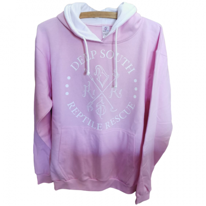 Deep South Reptile Rescue Hoodie - Pink