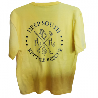 Deep South Reptile Rescue T-Shirt Light Yellow