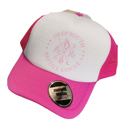 Deep South Reptile Rescue Snapback Cap - Pink