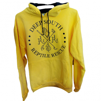Deep South Reptile Rescue Hoodie - Yellow